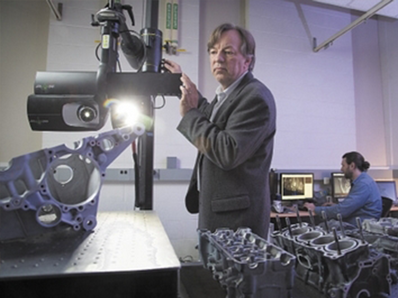 East Hartford 3-D Scanning Firm Races to Spread its Technology