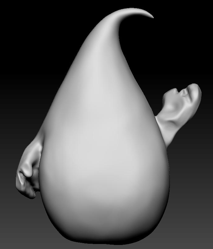 Clay Sculpture11_smooth & sculpt