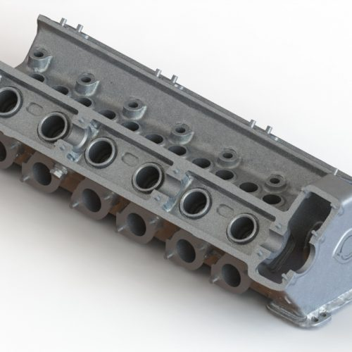 Bolton Works Maserati Straight Six Cylinder Head (1)